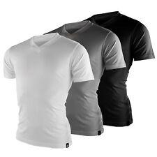 Dickies V-Neck MC MULTIPACK 210204 Camisetas de hombre Set Paquete de 3 NUEVO
