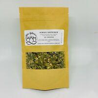 Immune Defense Organic Tea - Elderberry, Olive Leaf, Ginger, Lemon Balm