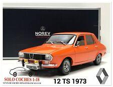 1:18 Renault 12 TS año 1973 color Naranja Norev Ref.185211