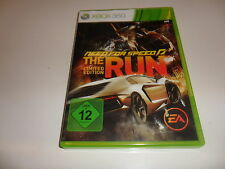 Xbox 360 Need for Speed: the Run-Limited Edition