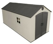 Lifetime Storage Sheds - 60075 Plastic Storage Shed 8 x 15