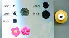 Mini Circle 5mm Paper Punch Quilling-Scrapbooking-Cardcraft-Punch Art  NIP