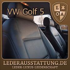 LEDERAUSSTATTUNG DE VW Golf 5 Sitzbezüge,Schonbezüge,Leder nachrüsten,Tuning NEU