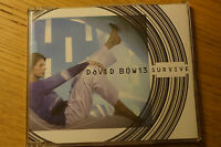 David Bowie Survive CD Single MINT Disc 3 Tracks plus bonus promo Virgin