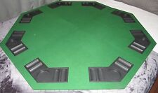 "VELVET GREEN POKER  Table cover  SIZE 46"" ROUND"