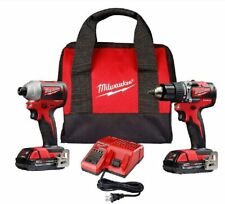 Milwaukee M18  2900-22CT 18V Brushless Cordless Compact Hammer Drill / Impact