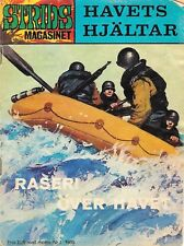 Vintage Rare 1969 Havets Hjältar (The Heroes of The Sea) Comic Book In Swedish