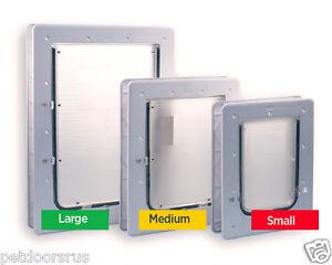 NEW Aussie Pet Doors For Glass, Small Pet Door, Medium Dog Door & Large Dog Door