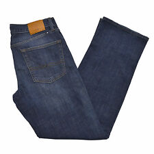 Lucky Brand Jeans 361 Vintage Straight Mens Pants Blue Denim Jean Whisker New