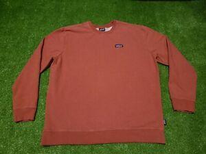 Patagonia Men's Uprisal Crew Neck Sweatshirt Size XL - Salmon