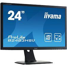 """iiyama B2483HSU-B1DP, LED-Monitor, 61 cm (24""""), hochglanzschwarz"""