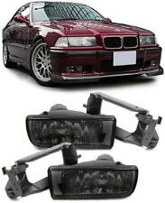2 FEUX ANTIBROUILLARD FUME BLACK BMW SERIE 3 E36 CABRIOLET 320 i 12/1990-08/1999