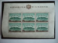 Europa 1961 - San Marino - Sheet of 6 - Scott# 490