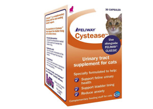 Feliway Cystease Cat Care Tablets Urinary Tract Bladder Supplements 30 Capsules