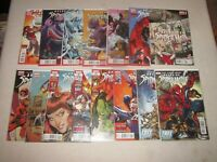 AVENGING SPIDER-MAN 1-22 PARTIAL 15 ISSUE RUN!!! 10 15.1 VF/NM!!!
