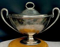 Antique English Silver Plate Tureen