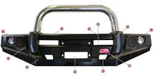 MCC SINGLE LOOP STAINLESS STEEL BULLBAR 707-01SP MITSUBISHI PAJERO NS-NW 06-15