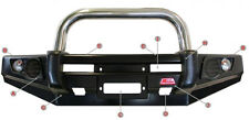 MCC SINGLE LOOP STAINLESS STEEL BULLBAR 707-01S MITSUBISHI PAJERO NH-NL 91-00