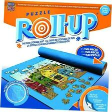 """Accessories - Jigsaw Puzzle Roll-Up Mat & Stow Box, 42"""" x 24"""", Fits 1500 Pieces"""