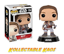 REY #114 - STAR WARS EPISODE VIII - FUNKO POP VINYL FIGURE