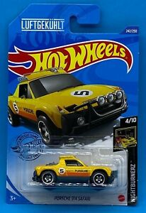 Hot Wheels Porsche 914 Safari Diecast Car Vehicle MOC