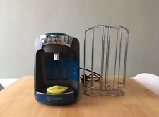 Tassimo Bosh SUNY Coffee Machine Blue Pacific Colour With Holder