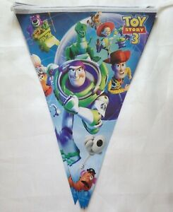 Paper Birthday Party Bunting,Flag Banners  Decoration Toy Story 3
