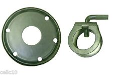 """ROHN Guy Ring and Clamp Assembly for up to 1-1/4"""" Antenna Masts - 1.25"""" USA Made"""