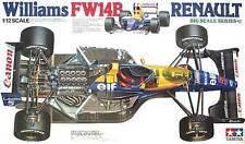 Tamiya America [TAM] 1:12 Williams FW14B Renault Formula One Model Kit TAM12029