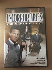 LES INCORRUPTIBLES .... DVD N°15 ..... ROBERT STACK