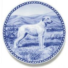 Irish Wolfhound - Dog Plate made in Denmark from the finest European Porcelain
