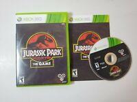 Xbox 360 :Jurassic Park The Game Complete Near Mint Disc Free Fast Shipping