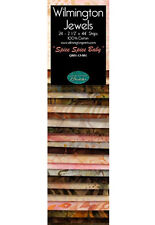 "Wilmington Jewels Spice Spice Baby - 2 1/2"" Strips - 24 Batik Jelly Roll Strips"