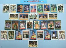 1985+ MARK McGWIRE Lot x 130 | Topps #401 Rookie Inserts-SP-Base | FHOF Batch