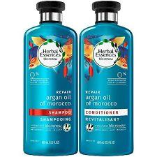 Herbal Essences Bio:Renew Shampooing et après-shampoing à l'huile d'argan 2x400