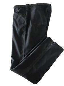 Nike Golf Dri Fit Men Sz 36/32 Black Pants Stretch TS0