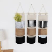 Door Wall Closet Home Hanging Storage Bag Organizer Holder Hanger Pouch Pockets