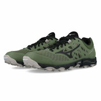 Mizuno Womens Wave Hayate 5 Trail Running Shoes Trainers Sneakers - Green Sports