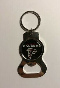 Atlanta Falcons Officially Licensed Bottle Opener Key Chain NWT NFL