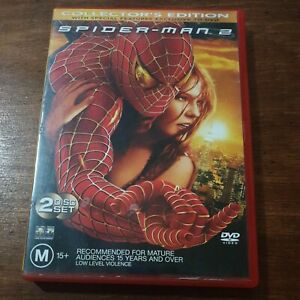 Spiderman 2 DVD R4 Like New! FREE POST
