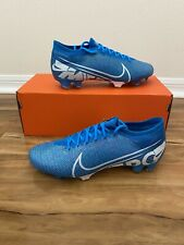 Nike Mercurial Vapor 13 Pro FG Size 9 Blue AT7901-414 New