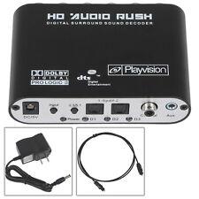 Mini 5.1 Channel DTS/AC3 HD Audio Rush Digital Surround Sound Decoder