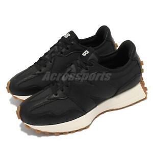 New Balance 327 NB Black Beige Gum Women Casual Lifestyle Shoes WS327LB B