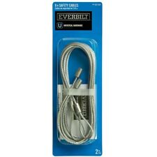 Everbilt 8 ft. Garage Door Safety Cable 5020A31, NEW (free shipping)
