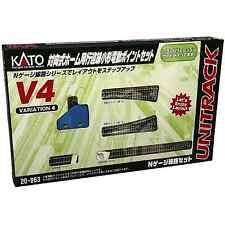 Kato 20-863 Unitrack V4 Changement de Côté / Switching Siding Set - N