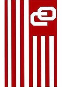 "Oklahoma Sooners-House Flag-Appliquéd-30""x52""-Nylon"