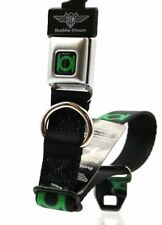 Buckle Down - Pet Product, Dog Collar Small Green Lantern, 9-15 Inches