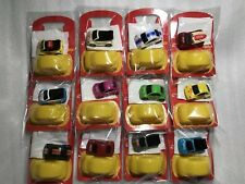 VW New Beetle Coca Cola Full set of 12 Pull Back Car Promo Volkswagen