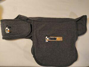 Thundershirt Dog MEDIUM 26-40 lbs Gray Solution Anxiety Thunder Fireworks Travel