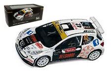 IXO RAM546 Peugeot 207 S2000 Monte Carlo Rally 2013 - Olivier Burri 1/43 Scale